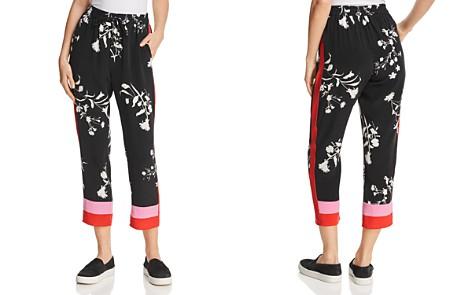 Joie Ceylon Silk Cropped Pants - Bloomingdale's_2