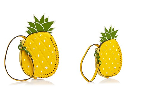 Tory Burch Pineapple Leather Coin Pouch - Bloomingdale's_2
