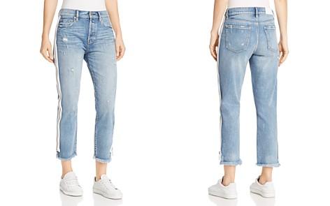 Pistola Charlie Zip-Detail Straight-Leg Jeans in My Way - Bloomingdale's_2