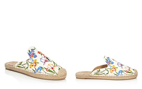 Tory Burch Women's Max Floral Embroidered Espadrille Mules - Bloomingdale's_2