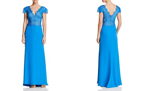 Tadashi Shoji Lace Bodice Gown - Bloomingdale's_2