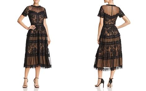 Tadashi Shoji Lace Midi Dress - Bloomingdale's_2