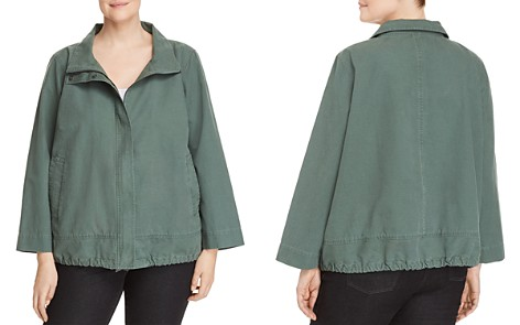 Eileen Fisher Plus Zip-Front Jacket - Bloomingdale's_2