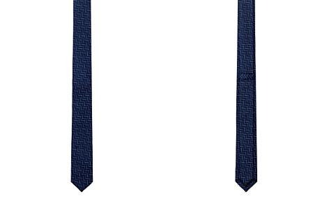 The Kooples Jacquard Geometric Step Skinny Tie - Bloomingdale's_2