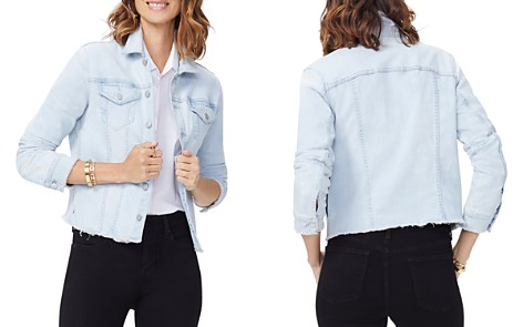 NYDJ Frayed Hem Denim Jacket - Bloomingdale's_2