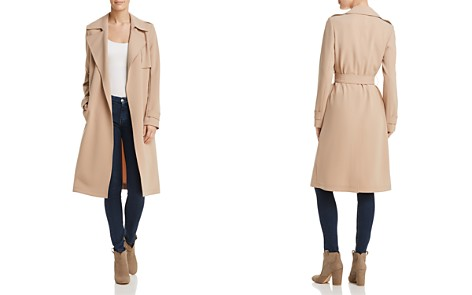 Theory Oaklane Admiral Crepe Trench Coat - 100% Exclusive - Bloomingdale's_2