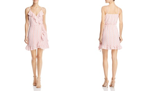 AQUA Ruffled Polka Dot Faux-Wrap Dress - 100% Exclusive - Bloomingdale's_2