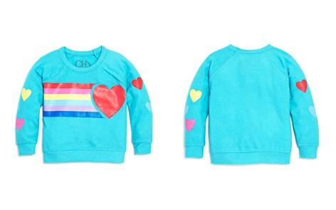 CHASER Girls' Hearts & Rainbows Sweatshirt - Big Kid - Bloomingdale's_2