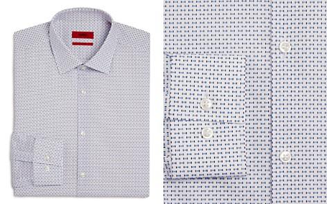HUGO Square-Dash Slim Fit Dress Shirt - Bloomingdale's_2