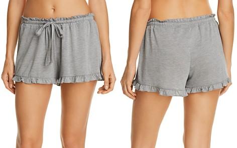 Josie Heathered Ruffle Sleep Shorts - Bloomingdale's_2
