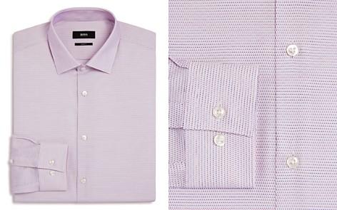 BOSS Micro-Weave Slim Fit Dress Shirt - Bloomingdale's_2