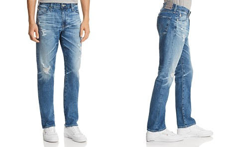 AG Jeans Everett Slim Straight Fit Jeans in 15 Years Swept Up - Bloomingdale's_2