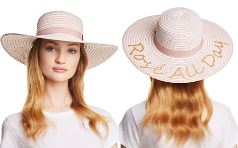 August Hat Company Rosé All Day Floppy Hat - Bloomingdale's_2