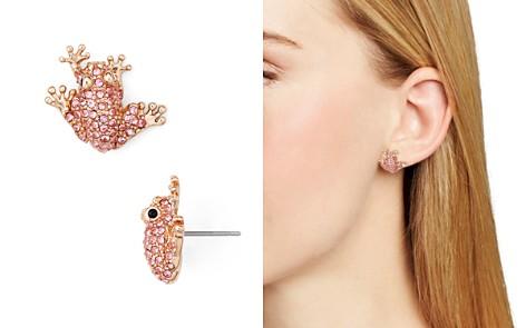 kate spade new york Frog Stud Earrings - Bloomingdale's_2