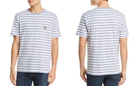 Barney Cools x Nintendo Blue Stripe Short Sleeve Tee - 100% Exclusive - Bloomingdale's_2