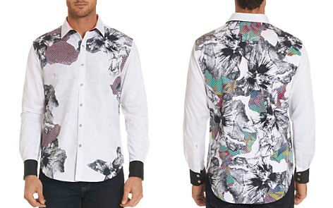 Robert Graham Floral Geometric Long Sleeve Button-Down Shirt - Limited Edition - Bloomingdale's_2