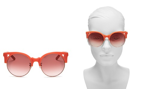 Pared Eyewear Women's Up & At Em Oversized Round Sunglasses, 55mm - Bloomingdale's_2