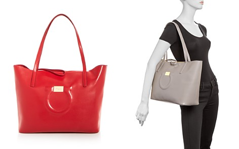 Salvatore Ferragamo Gancio City Tote - Bloomingdale's_2