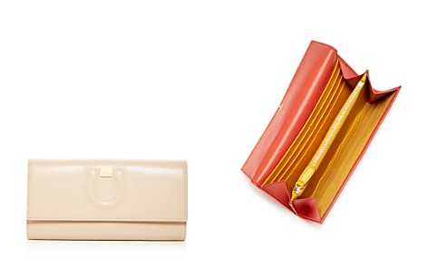 Salvatore Ferragamo Gancio City Leather Continental Wallet - Bloomingdale's_2