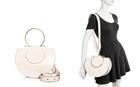 Salvatore Ferragamo Daphne Large Convertible Leather Shoulder Bag - Bloomingdale's_2