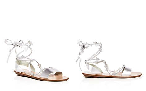 Loeffler Randall Women's Starla Leather Ankle Tie Sandals - Bloomingdale's_2