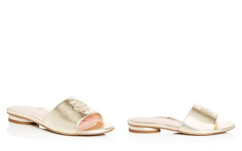 Taryn Rose Women's Dahna Leather Slide Sandals - Bloomingdale's_2