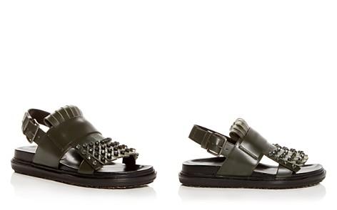 Marni Women's Fussbett Embellished Leather Slingback Sandals - Bloomingdale's_2