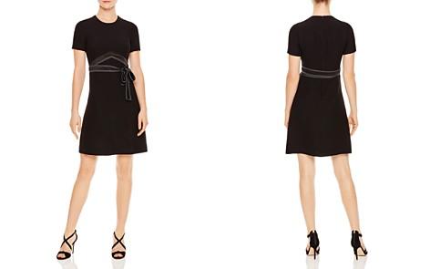 Sandro Isaure Silk-Sash A-Line Dress - Bloomingdale's_2