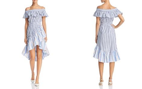 MISA Los Angeles Marin Off-the-Shoulder Dress - Bloomingdale's_2
