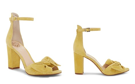 VINCE CAMUTO Women's Carrelen Suede Bow Block Heel Sandals - Bloomingdale's_2