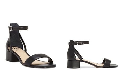 VINCE CAMUTO Women's Shetana Leather Ankle Strap Sandals - Bloomingdale's_2