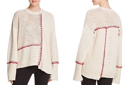 Elizabeth and James Lois Mixed-Stitch Sweater - Bloomingdale's_2