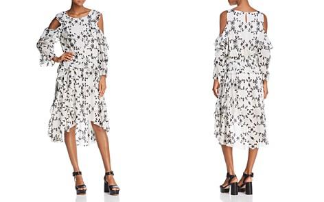 Joie Alpheus Silk Cold-Shoulder Dress - Bloomingdale's_2
