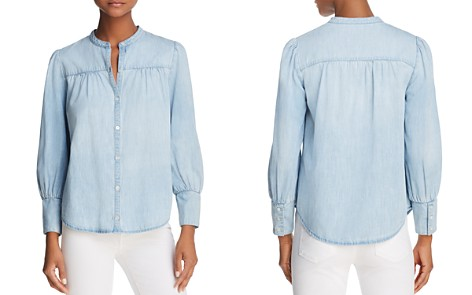 Joie Aubrielle Chambray Shirt - Bloomingdale's_2