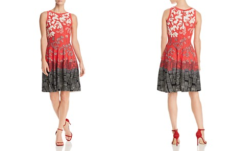 NIC+ZOE Terrace Twirl Printed Dress - Bloomingdale's_2