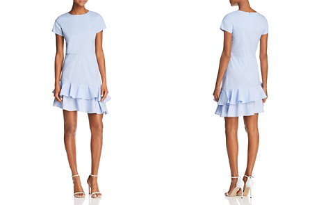 AQUA Seersucker Flounce Dress - 100% Exclusive - Bloomingdale's_2