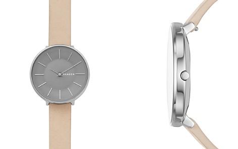 Skagen Karolina Nude-Tone Leather Strap Watch, 38mm - Bloomingdale's_2