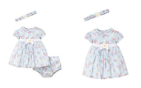 Little Me Girls' Springtime Dress, Romper & Headband Set - Baby - Bloomingdale's_2