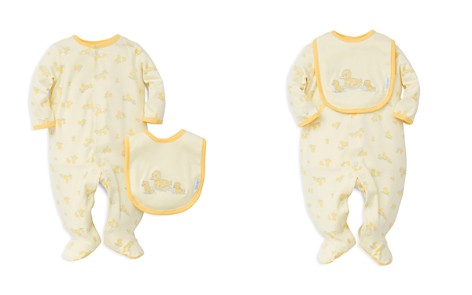 Little Me Unisex Little Ducks Footie & Bib Set - Baby - Bloomingdale's_2