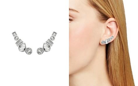 ADORE Mixed Crystal Ear Crawler Earrings - Bloomingdale's_2