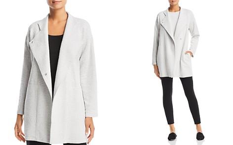 Eileen Fisher Petites Textured Snap-Front Jacket - Bloomingdale's_2