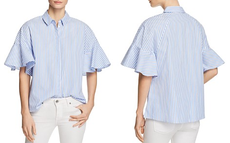 Le Gali Jessica Bell Sleeve Stripe Blouse - 100% Exclusive - Bloomingdale's_2