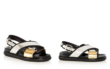 Marni Women's Fusbett Leather Crisscross Slingback Sandals - Bloomingdale's_2