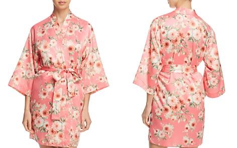 Flora Nikrooz Rosanna Satin Kimono - Bloomingdale's_2