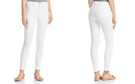 rag & bone/JEAN High-Rise Skinny Jeans in White - Bloomingdale's_2