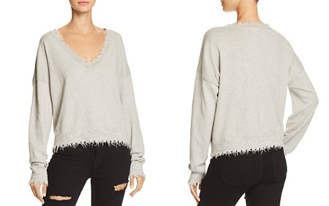 Nation LTD Darcy Boxy Distressed Sweater - Bloomingdale's_2