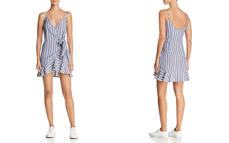 The Fifth Label Voyage Striped Mini Wrap Dress - Bloomingdale's_2