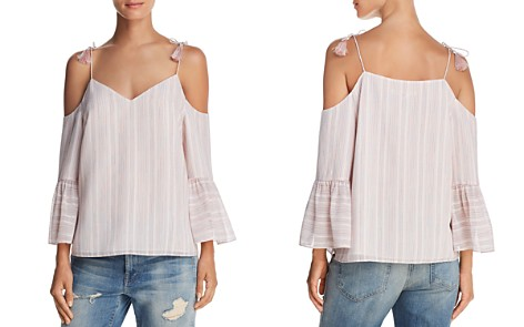 Cooper & Ella Sofie Rainbow Cold-Shoulder Top - Bloomingdale's_2