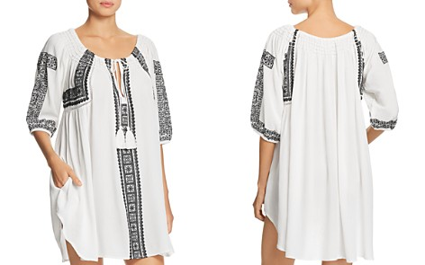 Muche et Muchette Mila Embroidered Tunic Swim Cover-Up - Bloomingdale's_2