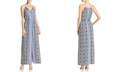 AQUA Medallion Print Maxi Dress - 100% Exclusive - Bloomingdale's_2